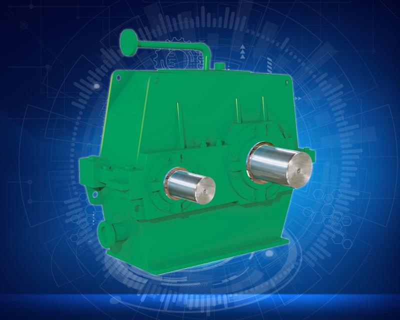 水泥磨机—专用硬齿面减速机系列